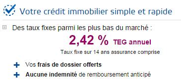Credit Immobilier Boursorama Banque Seule Banque Permettant D