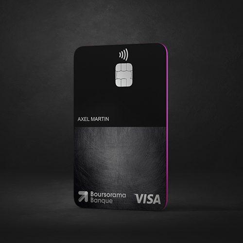 Carte Visa Ultim de Boursorama Banque : l'ultime Carte Bancaire à