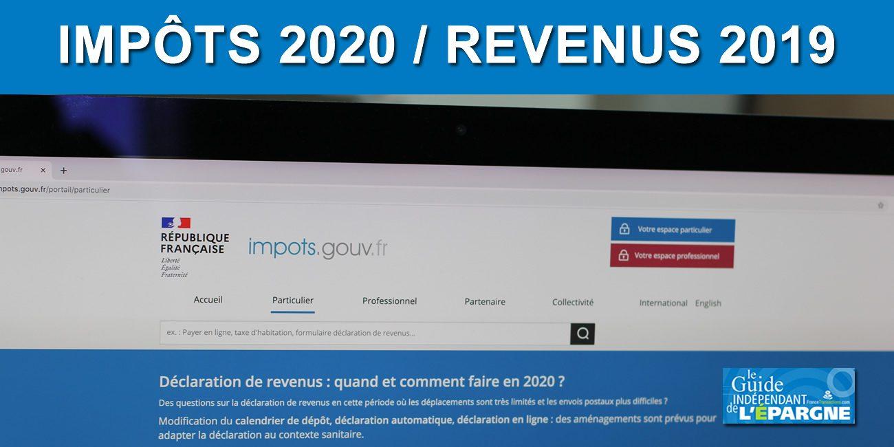 Impôts 2020 : les nouveautés à connaître pour votre déclaration de