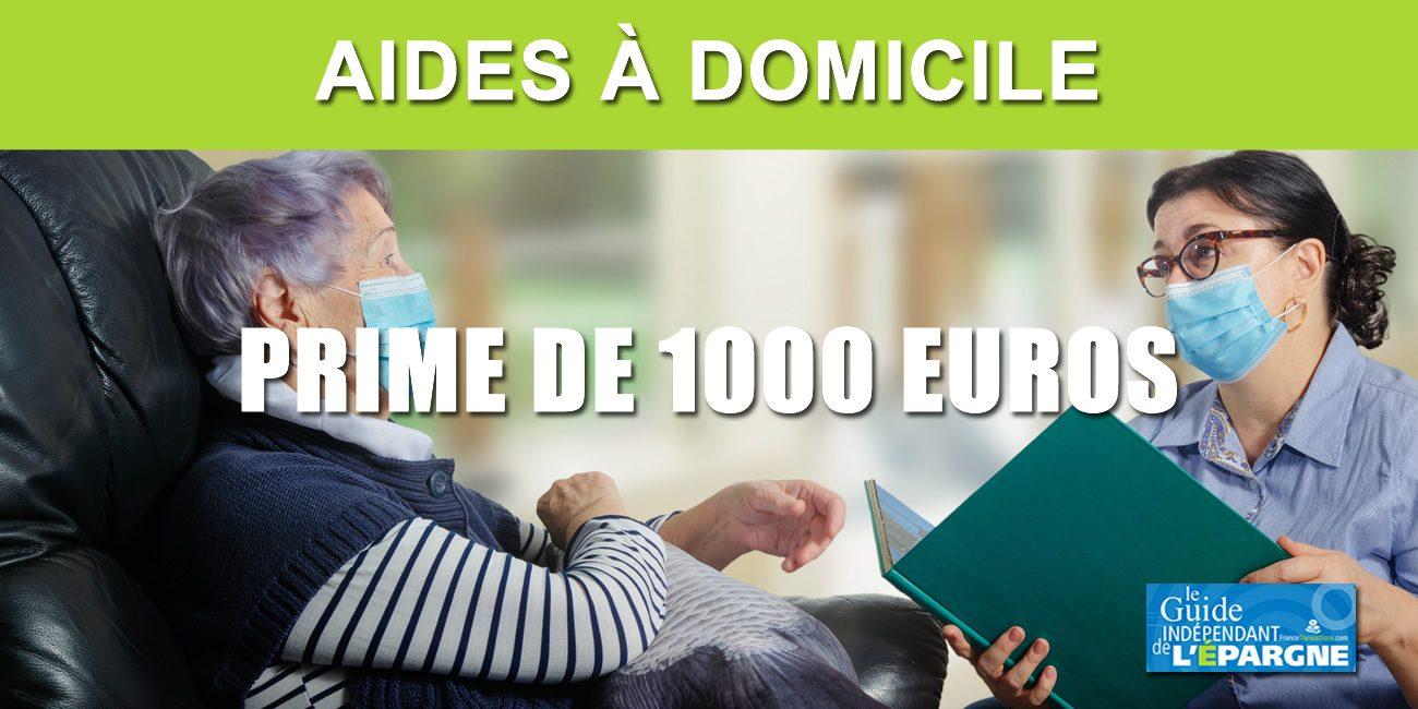 La prime de 10 euros pour les 10.10 aides à domicile sera