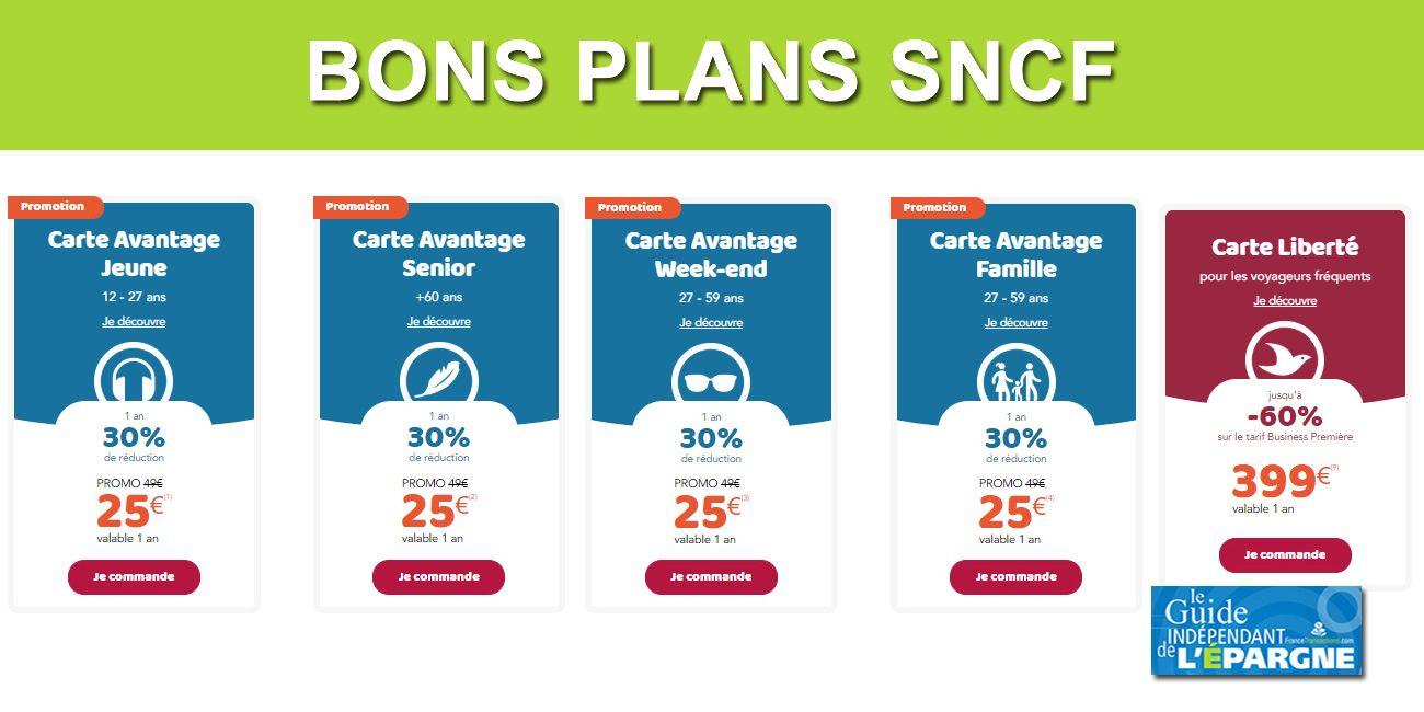 Offres promos cartes et abonnements SNCF  de  32 à  32 à saisir ...