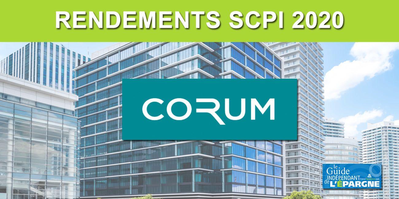 Les SCPI CORUM vont tenir leurs objectifs de rendements 2020 malgré la crise