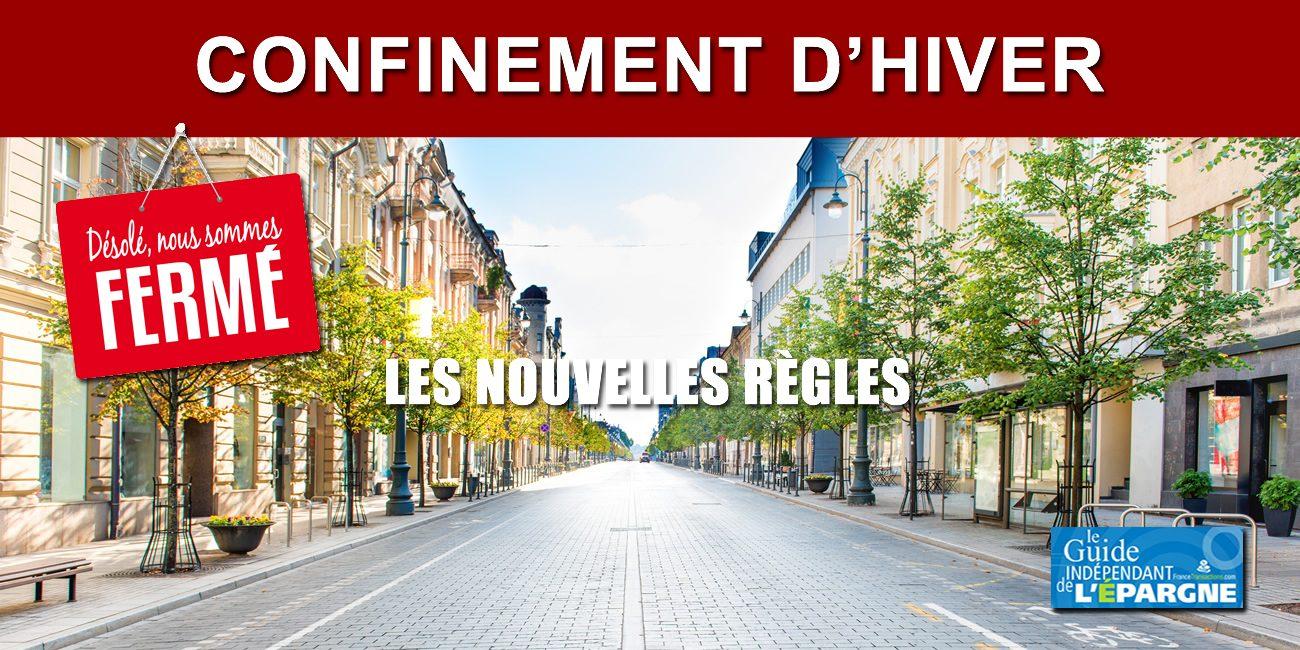 Confinement D Hiver Les Nouvelles Regles A Compter Du 30 Octobre Actualites Socio Economiques