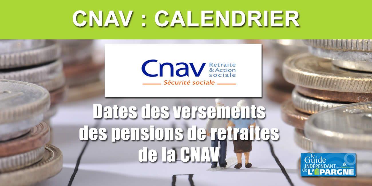 Calendrier Paiement Retraite Cnav 2022 📅 Calendrier 2021 de la CNAV (Versement des pensions de retraites