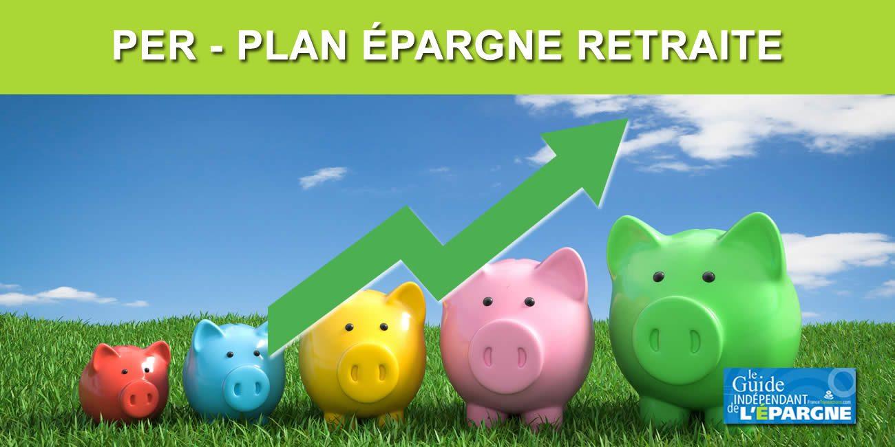 Épargne retraite : le PER assurance confirme son large succès auprès des épargnants (+156%)
