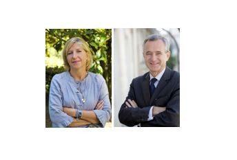 Olivia Milan, directrice du Salon National de l'Immobilier, Jean-François Buet, Président de la FNAIM