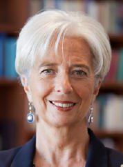 La directrice générale du FMI Christine Lagarde