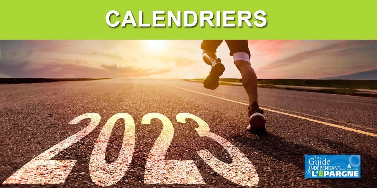 Calendrier 2020 des versements des pensions de la CNAV : Calendriers