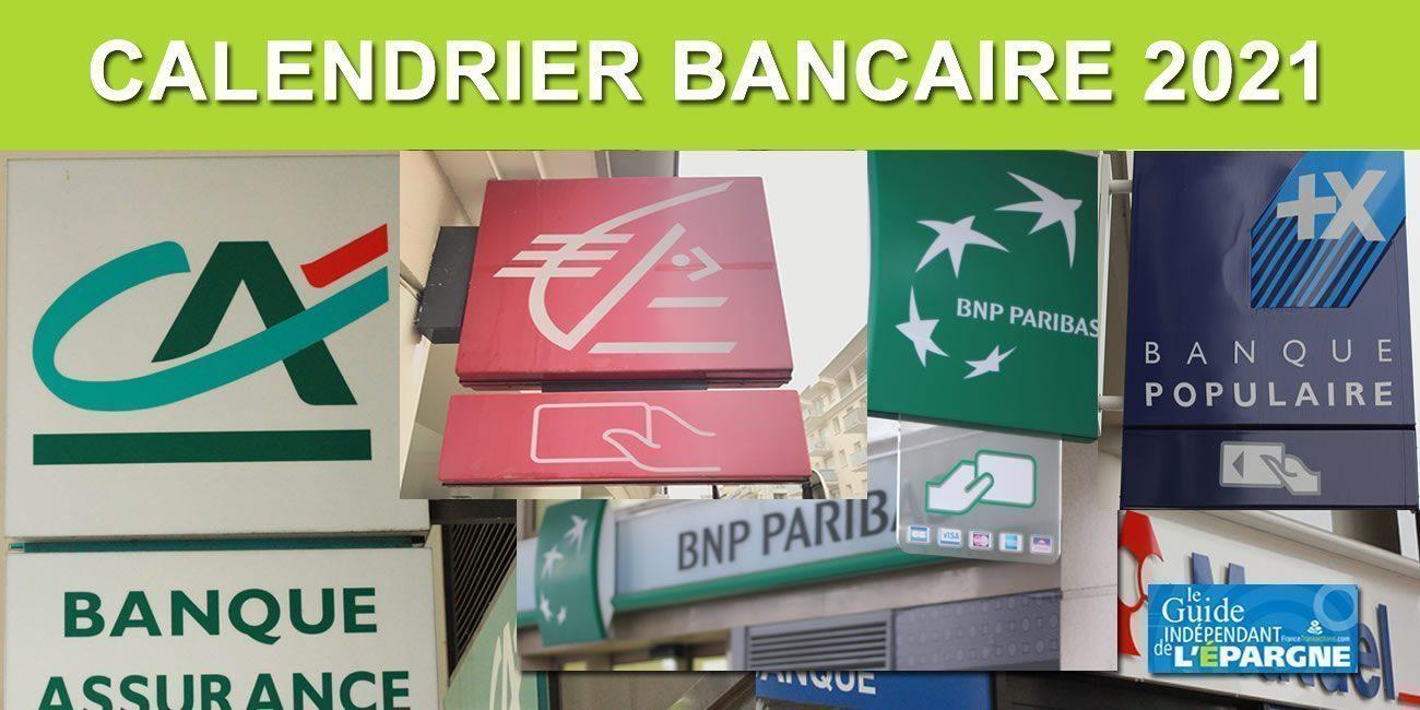 Banques : attention période de Noël, jours fériés et places