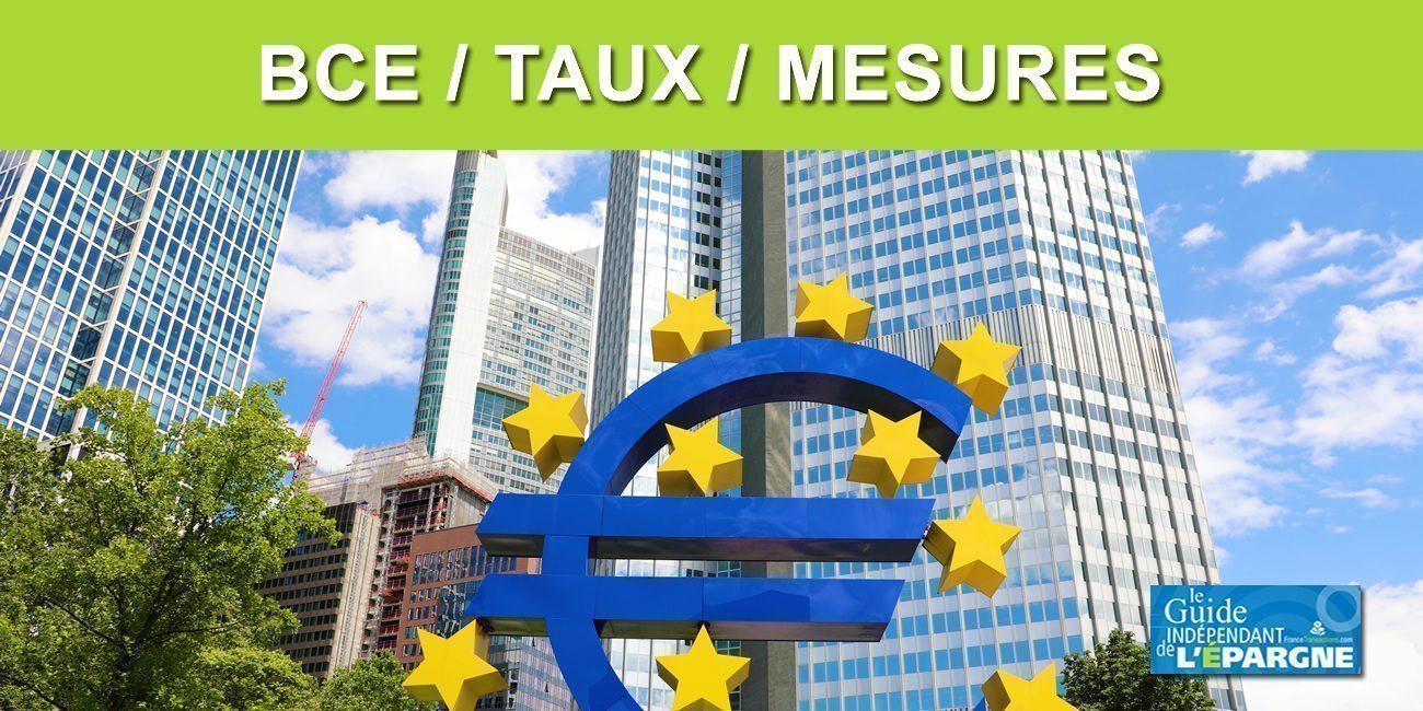 BCE : taux inchangés et jeux sur les mots, pas un tapering, mais un recalibrage