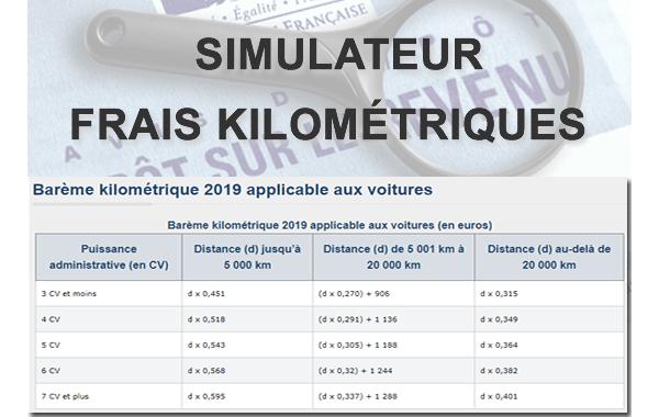 Calcul Frais Kilometriques 2019 Simulateur Pour Declaration Des
