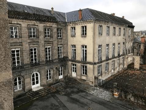 Immeuble sur Limoges, avant travaux